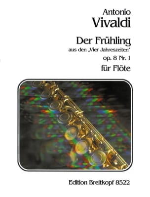 Antonio Vivaldi - Frühling aus den Vier Jahreszeiten - Partition - di-arezzo.fr
