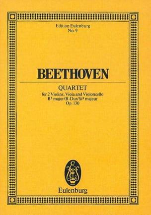 Streichquartett B-Dur op. 130 -Partitur - laflutedepan.com