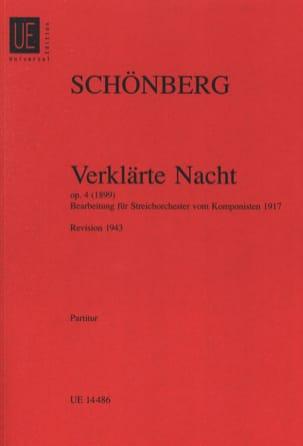 Verklärte Nacht op. 4 - Streichorch. – Partitur - laflutedepan.com