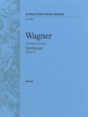 Richard Wagner - Tannhäuser, Ouverture - Conducteur - Partition - di-arezzo.fr