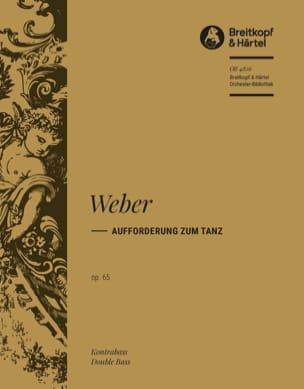 Carl Maria von Weber - Aufforderung zum Tanz - Sheet Music - di-arezzo.com