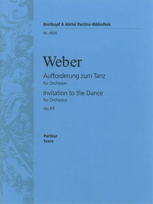 Carl Maria von Weber - Aufforderung zum Tanz - Conducteur - Partition - di-arezzo.fr