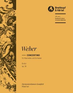 Concertino Für Klarinette Es-Dur Op. 26 Carl M von Weber laflutedepan
