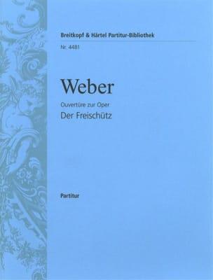 Der Freischütz, Ouvertüre - Partitur Carl Maria von Weber laflutedepan
