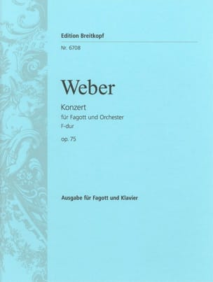 Concerto Basson Fa Maj., Op. 75 - J.127 laflutedepan