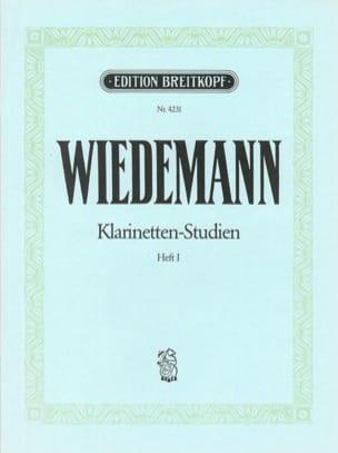 Ludwig Wiedemann - Klarinetten-Studien, Bd I - Partitura - di-arezzo.es