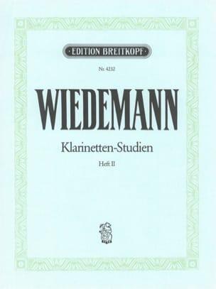 Ludwig Wiedemann - Klarinetten-Studien, Bd II - Partitura - di-arezzo.es