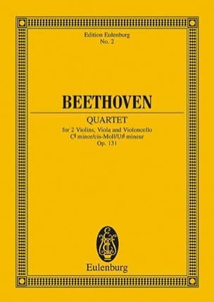 BEETHOVEN - Streichquartett Cis-moll op. 131 - Partitur - Partitura - di-arezzo.es