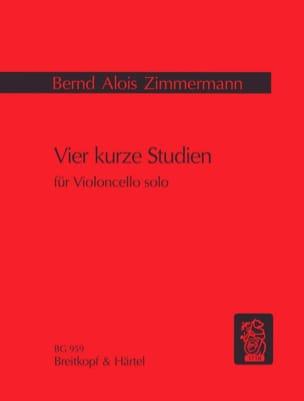 Bernd Alois Zimmermann - Vier kurze Studien - Sheet Music - di-arezzo.com