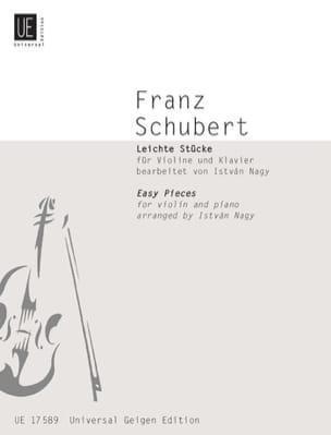 Franz Schubert - Leichte Stücke für Violine und Klavier - Partition - di-arezzo.fr