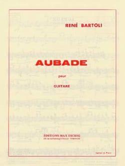 René Bartoli - Aubade - Partition - di-arezzo.fr