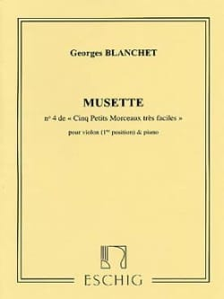 Georges Blanchet - haversack - Sheet Music - di-arezzo.co.uk