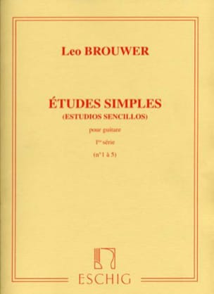 Leo Brouwer - Single Studies - 1st Series - Sheet Music - di-arezzo.co.uk