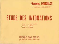 DANDELOT - Estudio de las entonaciones - Las Dièzes: Libro 2 - Partitura - di-arezzo.es