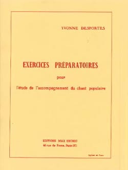 Yvonne Desportes - Preparatory exercises - Sheet Music - di-arezzo.co.uk