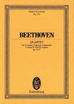 Streich-Quartett F-Dur F-Dur - Ludwig van Beethoven - laflutedepan.com