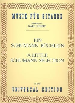 Ein Schumann Büchlein SCHUMANN Partition Guitare - laflutedepan