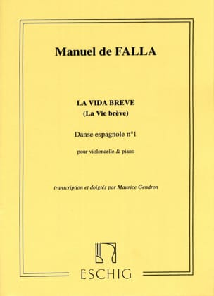 DE FALLA - Spanish Dance No. 1 Extr. The Vida breve - Sheet Music - di-arezzo.com