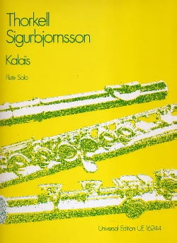 Kalais – Flute solo - Thorkell Sigurbjornsson - laflutedepan.com