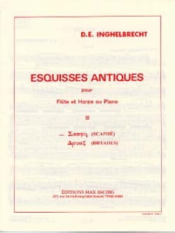 D. E. Inghelbrecht - Scaphé (Esquisse antique n° 1) - Partition - di-arezzo.fr