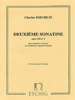 Charles Koechlin - 2nd Sonatine op. 194 n ° 2 - Oboe of love - Sheet Music - di-arezzo.co.uk