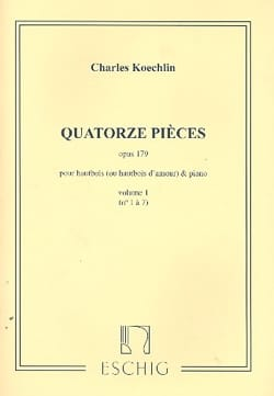 Charles Koechlin - 14 Pieces Op.179 - Volume 1 - Sheet Music - di-arezzo.com