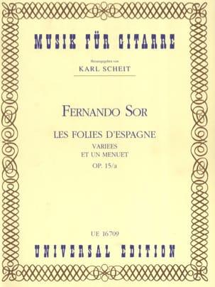 Les Folies d'Espagne variées et un Menuet op. 15/a laflutedepan