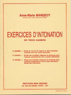Anne-Marie Mangeot - Intonation Exercises - Book 1 - Sheet Music - di-arezzo.com