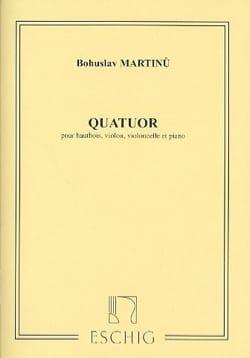 Quatuor -hautbois, violon, violoncelle et piano - laflutedepan.com