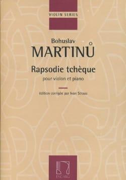 Bohuslav Martinu - Czech Rapsodie - Sheet Music - di-arezzo.co.uk