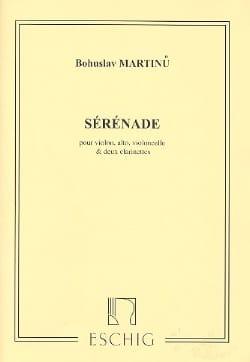 Sérénade - Parties MARTINU Partition Quintettes - laflutedepan