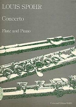 Concerto op. 47 - Flûte piano Louis Spohr Partition laflutedepan