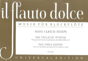 Hans Ulrich Staeps - Das Tägliche pensum - Sheet Music - di-arezzo.co.uk