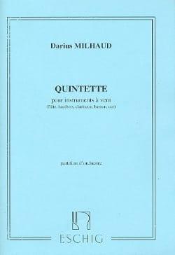 Quintette pour instruments à vent - Conducteur - laflutedepan.com