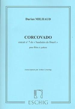 Corcovado - Darius Milhaud - Partition - Duos - laflutedepan.com