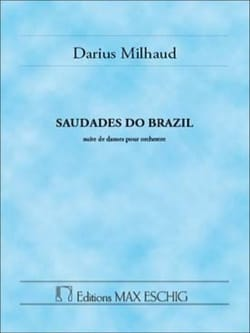 Saudades Do Brazil - Darius Milhaud - Partition - laflutedepan.com