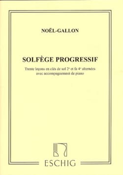 Noël Gallon - Progressive Music in 2 Keys with Piano - Sheet Music - di-arezzo.com