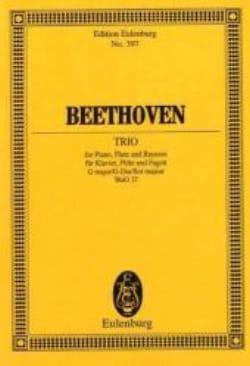 Trio G-Dur - Ludwig van Beethoven - Partition - laflutedepan.com