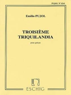 Triquilandia n° 3 - Emilio Pujol - Partition - laflutedepan.com