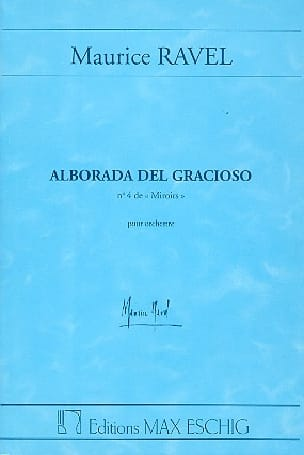 Maurice Ravel - Alborada del gracioso - Conducteur - Partition - di-arezzo.fr
