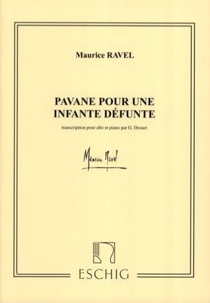 Maurice Ravel - Pavane pour une infante défunte – Alto - Partition - di-arezzo.fr