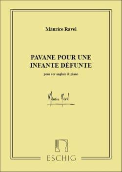 Pavane pour une infante défunte Maurice Ravel Partition laflutedepan