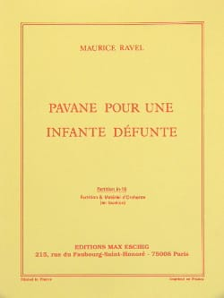 Maurice Ravel - Pavane for a dead infant - Driver - Sheet Music - di-arezzo.co.uk