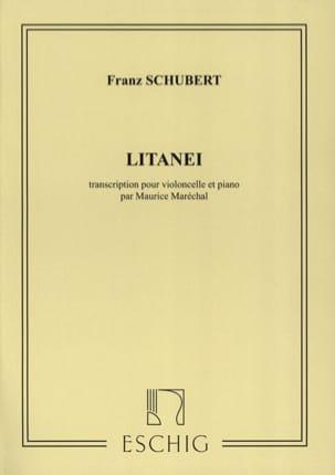 Litanei SCHUBERT Partition Violoncelle - laflutedepan