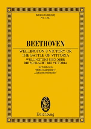 BEETHOVEN - Wellingtons Sieg, Op. 91 - Driver - Sheet Music - di-arezzo.co.uk
