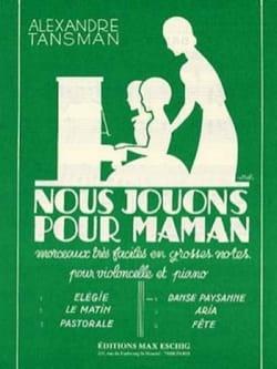 Alexandre Tansman - Jugamos para mamá - n ° 4: Danse Paysanne - Partitura - di-arezzo.es