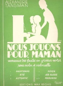 Alexandre Tansman - Nous jouons pour maman - n° 6 : Mazurka - Partition - di-arezzo.fr