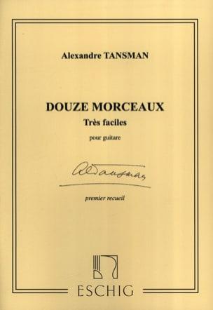 Alexandre Tansman - 12 Morceaux très faciles – 1er recueil - Partition - di-arezzo.fr