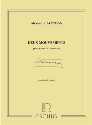 2 Mouvements pour quatuor de violoncelles - laflutedepan.com