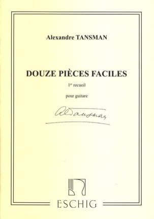 Alexandre Tansman - 12 Pièces faciles - 1er recueil - Partition - di-arezzo.fr